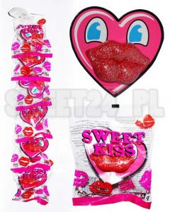 Lizaki usta XL SWEET KISS RED  23g op.6szt.2,89 zł/szt.
