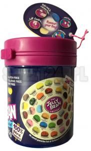 Żelki fasolki THE JELLY BEAN FACTORY  POP 36 smaków 100g w dozowniku