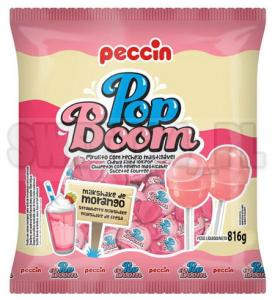 Lizaki  POP BOOM MILK SHAKE STRAWBERRY op.48 szt. 0,36 zł/szt.