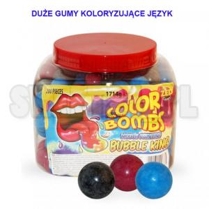 Gumy COLOR BOMBS MOUTH PAINTING  8g op.200szt. 0,45 zł/szt.